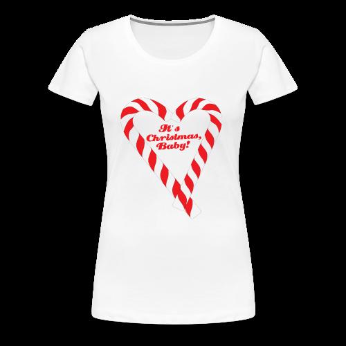 Candy Cane - It's Christmas, Baby! - Frauen Premium T-Shirt