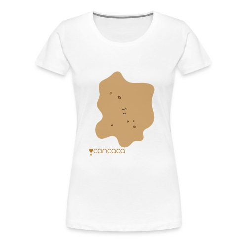 Baby bodysuit with Baby Poo - Women's Premium T-Shirt