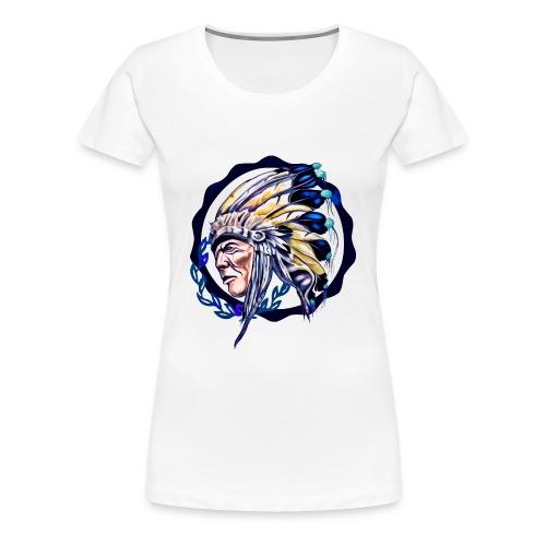 INDIO COLOR - Camiseta premium mujer
