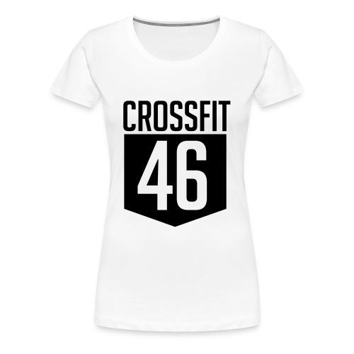 CROSSFIT46 big logo - Premium T-skjorte for kvinner