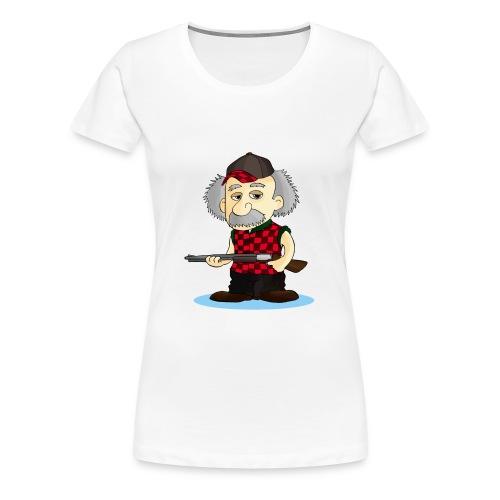 WOMENS Long Sleeve TEE REinstein Logo top left - Women's Premium T-Shirt