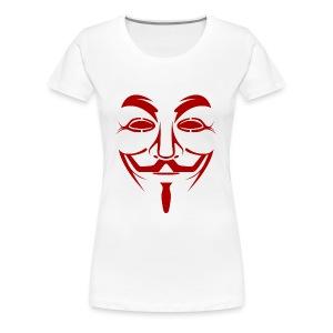 Anonym - Frauen Premium T-Shirt
