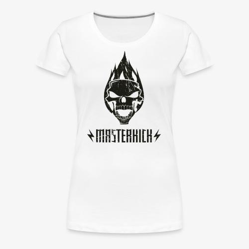 Masterkick logo noir - T-shirt Premium Femme