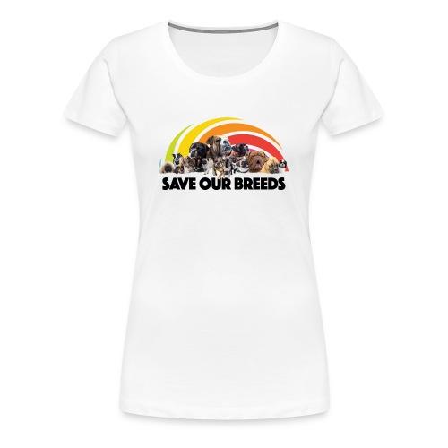 Love Not Hate - Women's Premium T-Shirt