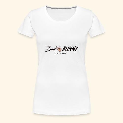 bad buny - Camiseta premium mujer