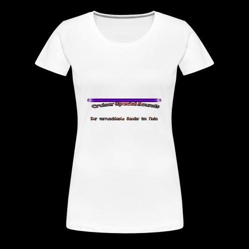 cssder - Frauen Premium T-Shirt
