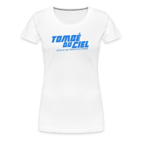 Logo TDC BLEU 2018 - T-shirt Premium Femme