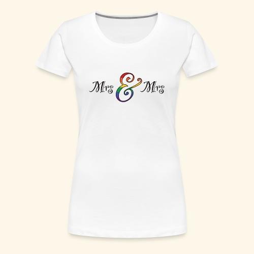 MrsMrs1 - Frauen Premium T-Shirt