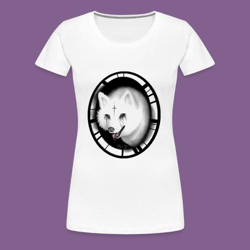 Krist White Wolf - Camiseta premium mujer