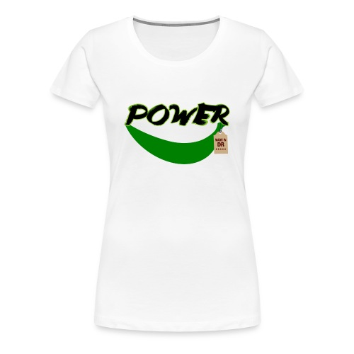 Plátano Power-Made in DR - Camiseta premium mujer