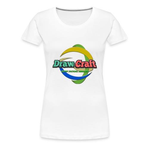 T-Shirt DrawCraft - Maglietta Premium da donna