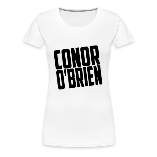 The Conor O'Brien Logo - Women's Premium T-Shirt