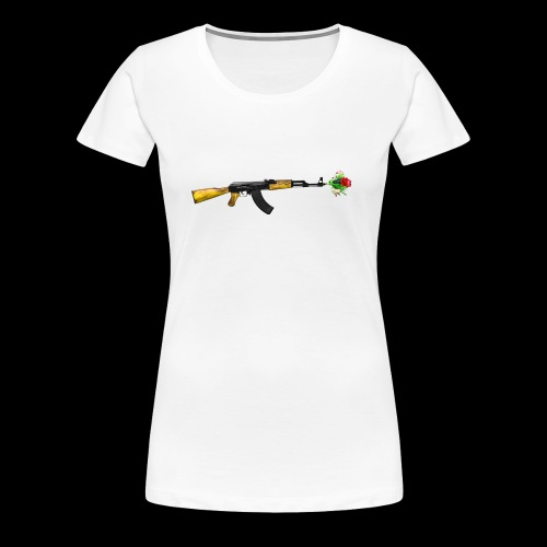 AKFLOWER - Frauen Premium T-Shirt