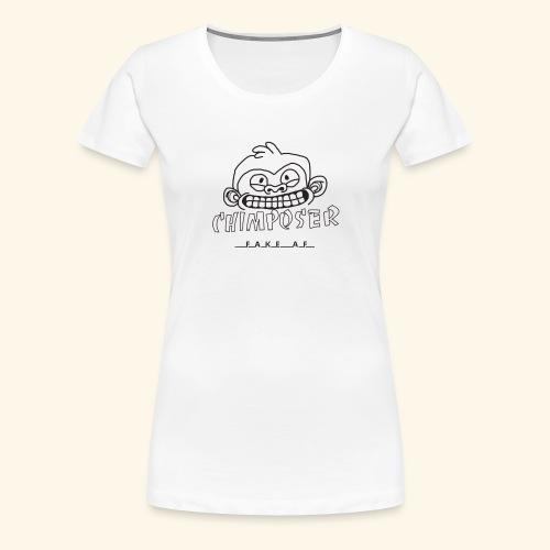 chimposer og fake af design - Vrouwen Premium T-shirt