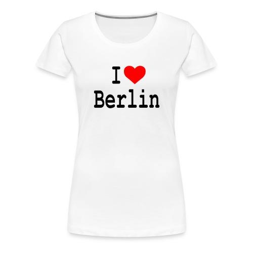 I Love Berlin - Vrouwen Premium T-shirt