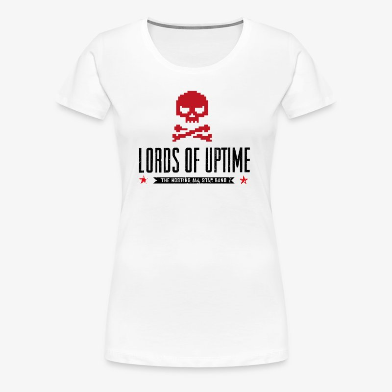 Lords of Uptime black - Frauen Premium T-Shirt