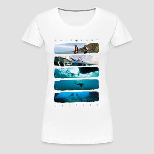 75 Jahre Jubiläum | WOMEN | weiß - Frauen Premium T-Shirt