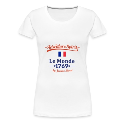 Adventure Spirit France - Frauen Premium T-Shirt
