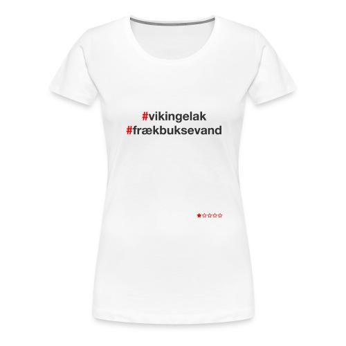 Hashtag - Dame premium T-shirt