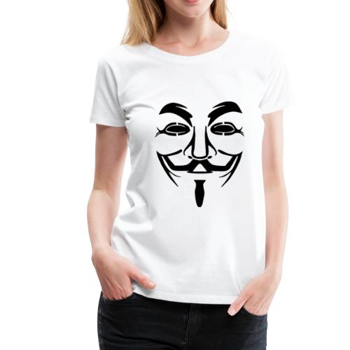anonym vendetta - Frauen Premium T-Shirt