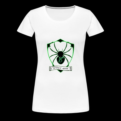 Spider army - Frauen Premium T-Shirt