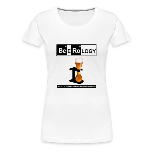 Beerology Cool Beer Gift - Women's Premium T-Shirt