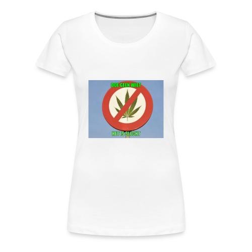 s3 stop wiet case - Vrouwen Premium T-shirt