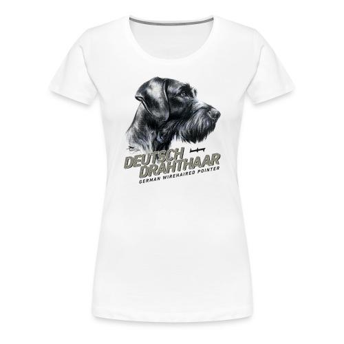 Deutsch Drahthaar Lieblingshund - Frauen Premium T-Shirt