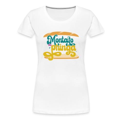 Montaíto de pringá - Camiseta premium mujer