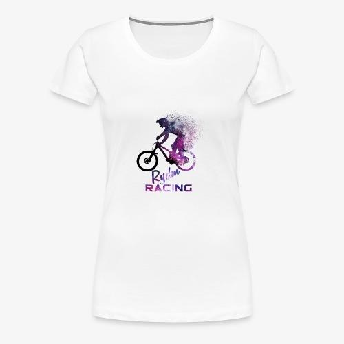 Galaxy Bike - Frauen Premium T-Shirt