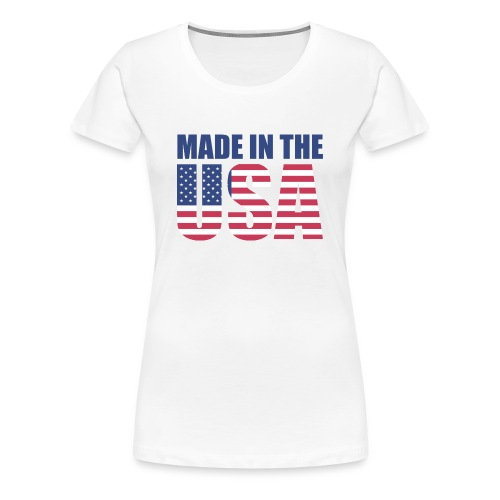 Made in the USA - T-shirt Premium Femme