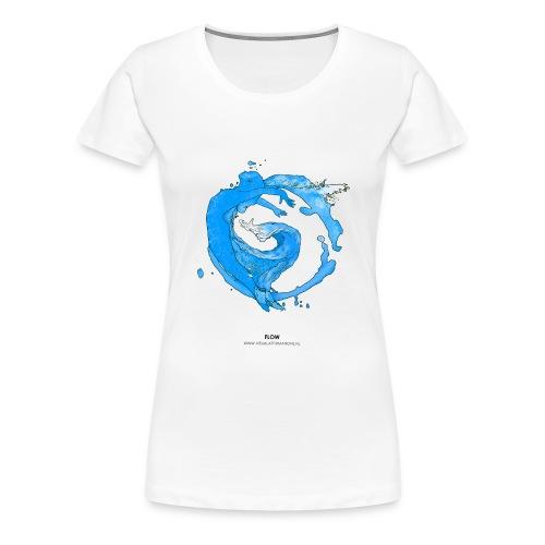 FLOW - Vrouwen Premium T-shirt