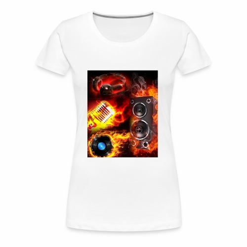 GC Flames - Women's Premium T-Shirt