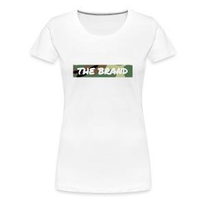 LIMITED EDITION CAMO BOX LOGO - Women's Premium T-Shirt