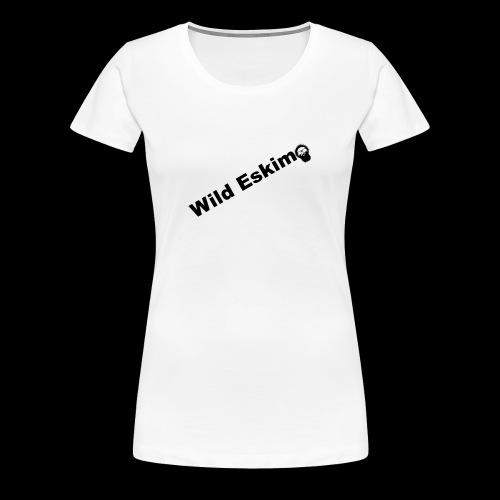 Wild Eskimo Basic Design - Frauen Premium T-Shirt