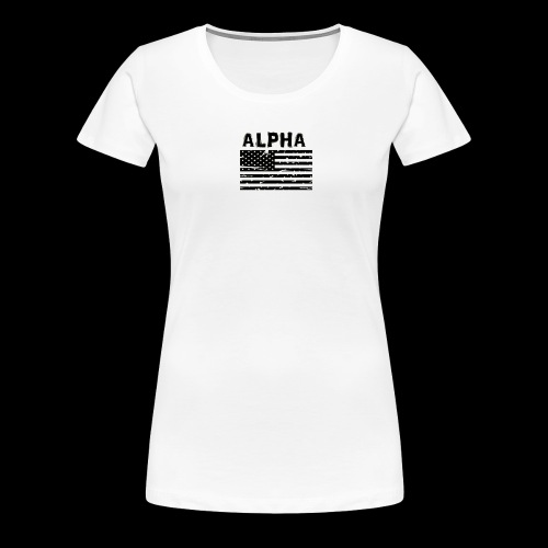 ALPHA - Frauen Premium T-Shirt