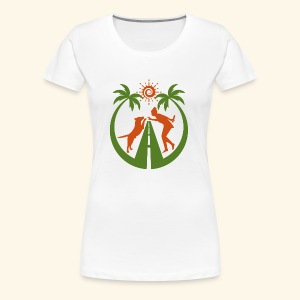 Travel & Fun - Frauen Premium T-Shirt