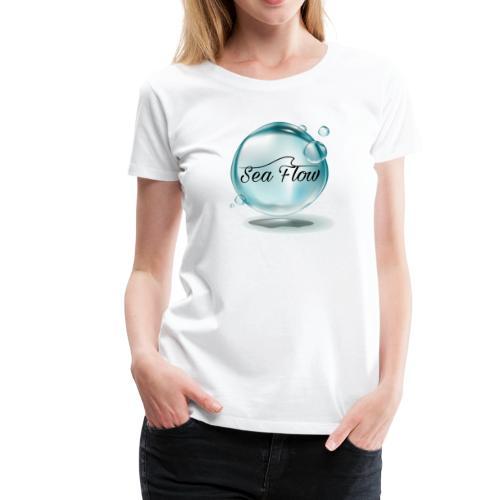 abbigliamento e tazze logo Sea Flow Bolla - Maglietta Premium da donna