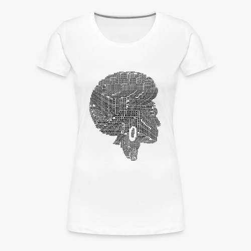 Black Is Beautiful Afro - T-shirt Premium Femme