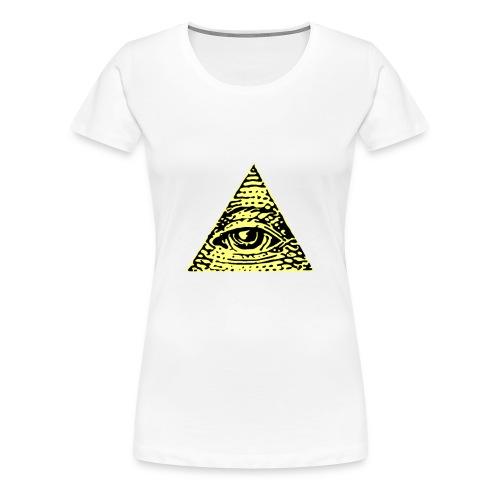 Illuminati - Premium-T-shirt dam