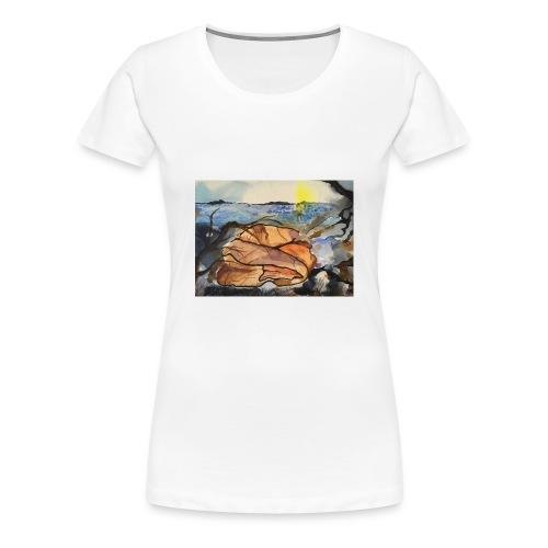 Lezvos 11 - Premium-T-shirt dam