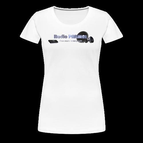 Radio PARALAX Facebook-Logo - Frauen Premium T-Shirt