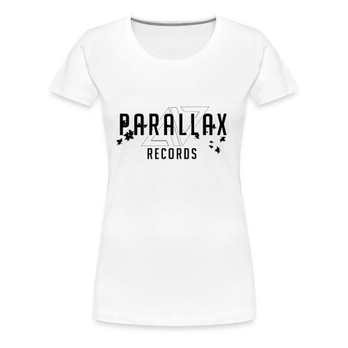 Logo + Text - Women's Premium T-Shirt