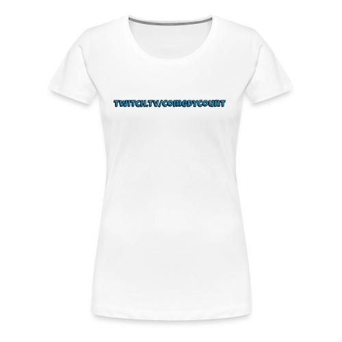 TWITCH - Dame premium T-shirt