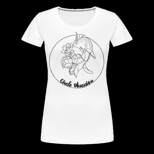 Circle Obsession - T-shirt Premium Femme