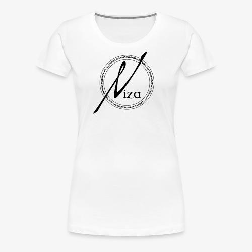 Niza Logo Schwarz - Frauen Premium T-Shirt