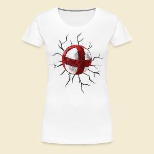 Radball | Cycle Ball Crash - Frauen Premium T-Shirt