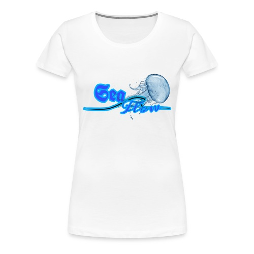 Sea Flow logo medusa abbigliamento - accessori - Maglietta Premium da donna