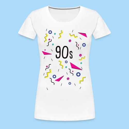 90er Jahre 90s - Frauen Premium T-Shirt