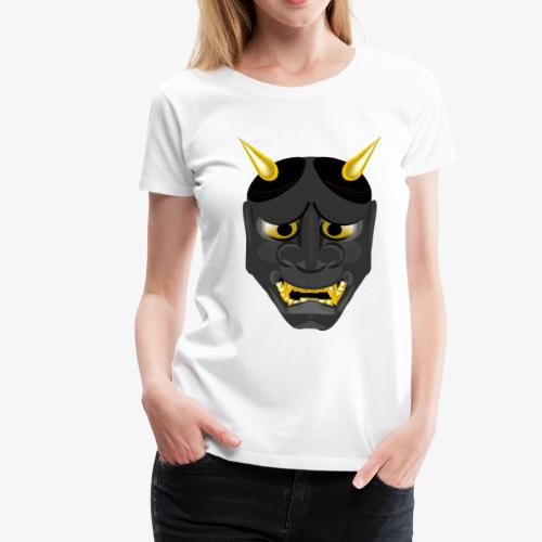Demon Mask Black - Women's Premium T-Shirt